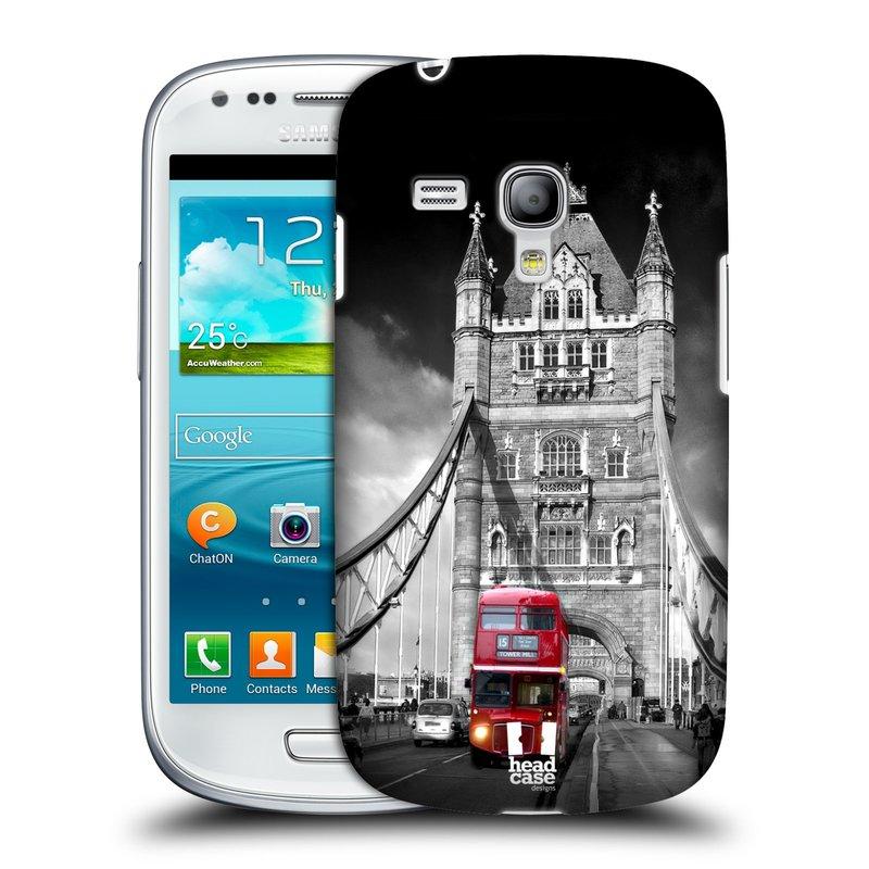 Plastové pouzdro na mobil Samsung Galaxy S III Mini HEAD CASE MOST V LONDÝNĚ (Kryt či obal na mobilní telefon Samsung Galaxy S III Mini GT-i8190)