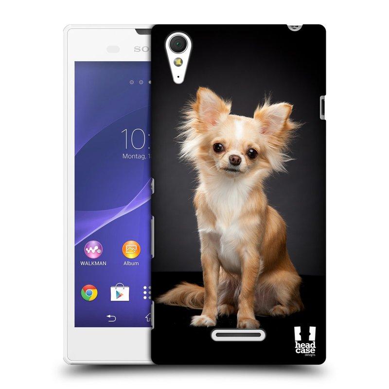 Plastové pouzdro na mobil Sony Xperia T3 D5103 HEAD CASE ČIVAVA (Kryt či obal na mobilní telefon Sony Xperia T3 )