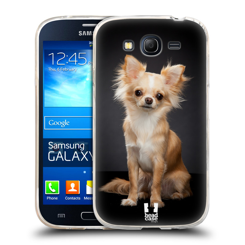 Silikonové pouzdro na mobil Samsung Galaxy Grand Neo Plus HEAD CASE ČIVAVA (Silikonový kryt či obal na mobilní telefon Samsung Galaxy Grand Neo Plus Duos GT-I9060i)