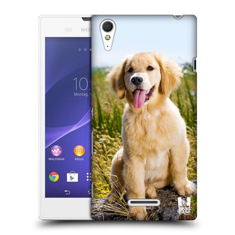 Plastové pouzdro na mobil Sony Xperia T3 D5103 HEAD CASE RETRÍVR (Kryt či obal na mobilní telefon Sony Xperia T3 )