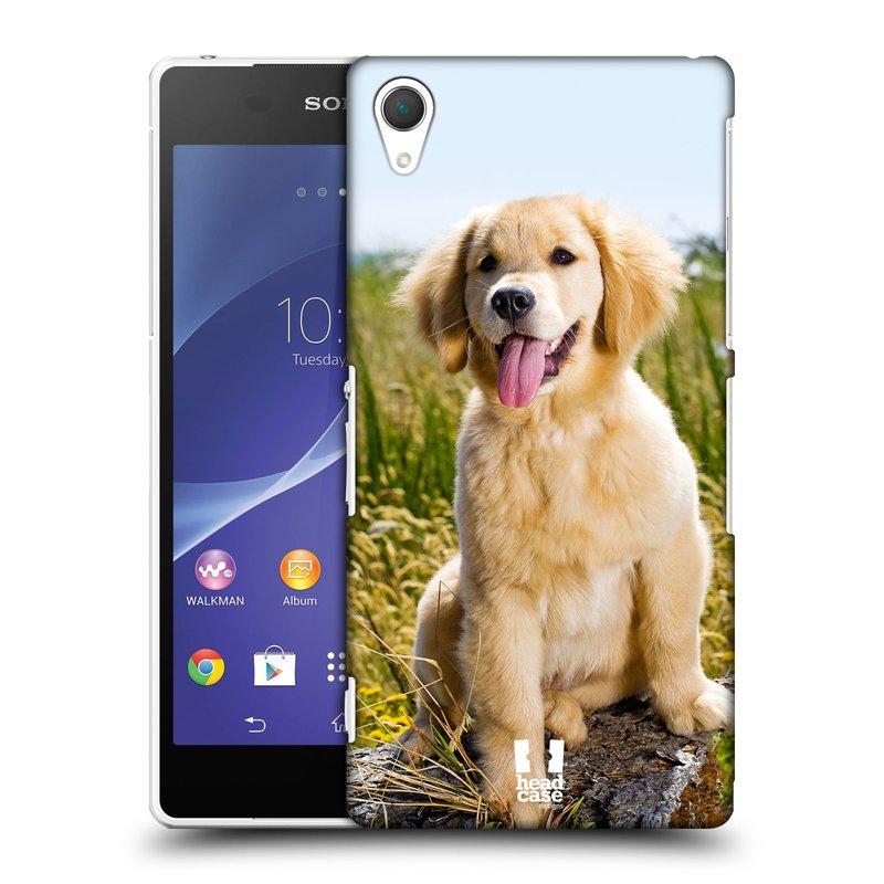 Plastové pouzdro na mobil Sony Xperia Z2 D6503 HEAD CASE RETRÍVR (Kryt či obal na mobilní telefon Sony Xperia Z2 )