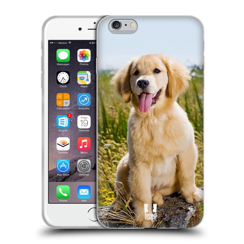 Silikonové pouzdro na mobil Apple iPhone 6 Plus a 6S Plus HEAD CASE RETRÍVR (Silikonový kryt či obal na mobilní telefon Apple iPhone 6 Plus a 6S Plus)