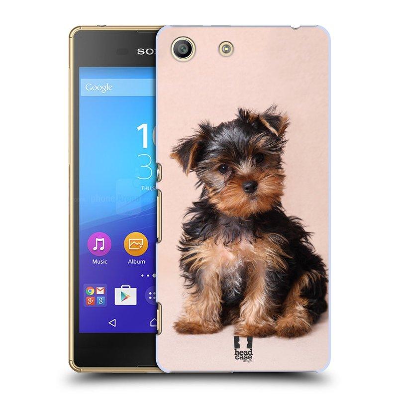 Plastové pouzdro na mobil Sony Xperia M5 HEAD CASE YORKŠÍR (Kryt či obal na mobilní telefon Sony Xperia M5 Aqua)
