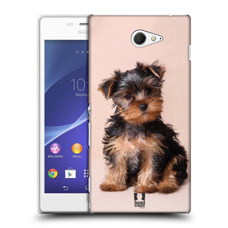 Plastové pouzdro na mobil Sony Xperia M2 D2303 HEAD CASE YORKŠÍR (Kryt či obal na mobilní telefon Sony Xperia M2 )