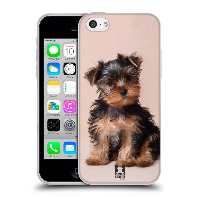 Silikonové pouzdro na mobil Apple iPhone 5C HEAD CASE YORKŠÍR (Silikonový kryt či obal na mobilní telefon Apple iPhone 5C)