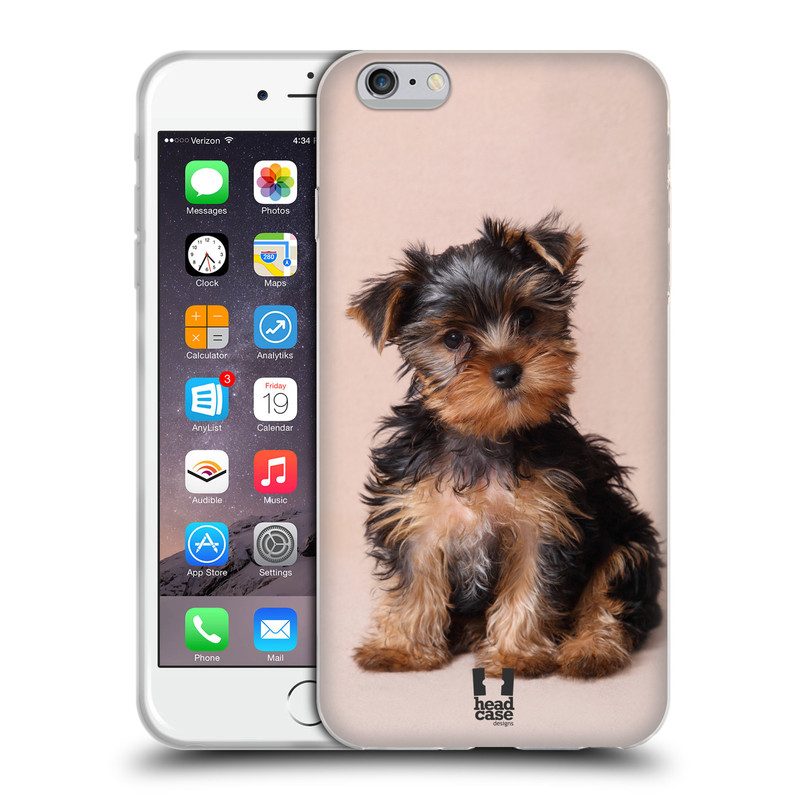 Silikonové pouzdro na mobil Apple iPhone 6 Plus a 6S Plus HEAD CASE YORKŠÍR (Silikonový kryt či obal na mobilní telefon Apple iPhone 6 Plus a 6S Plus)