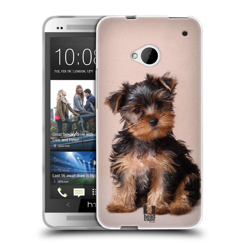 Silikonové pouzdro na mobil HTC ONE M7 HEAD CASE YORKŠÍR (Silikonový kryt či obal na mobilní telefon HTC ONE M7)
