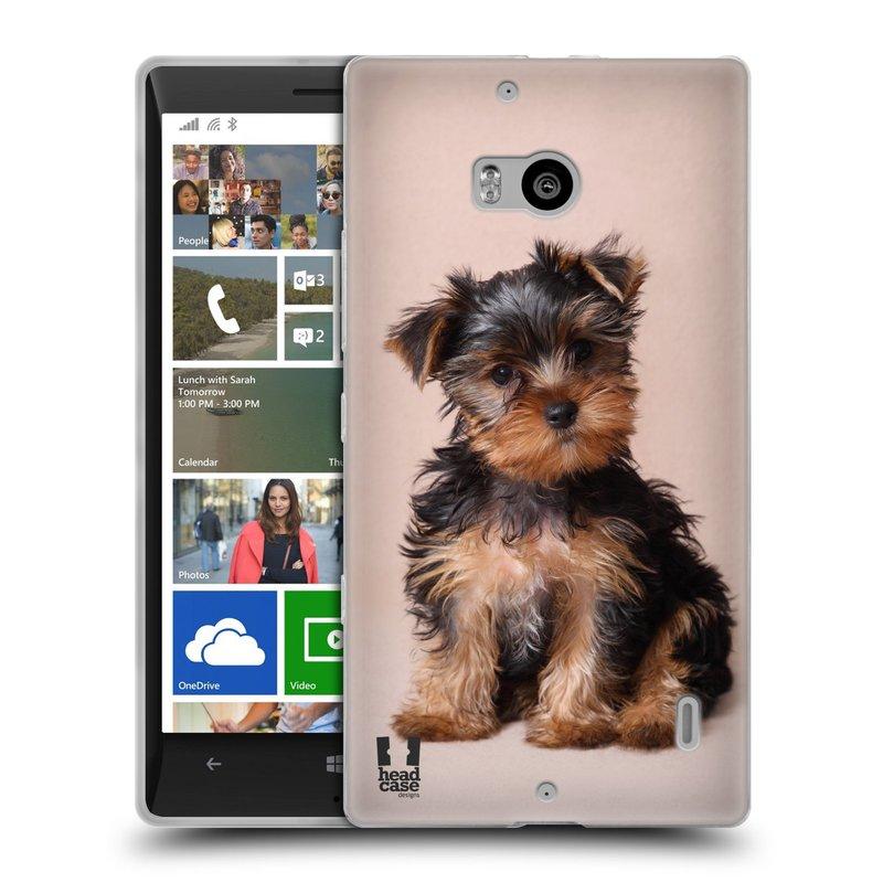 Silikonové pouzdro na mobil Nokia Lumia 930 HEAD CASE YORKŠÍR (Silikonový kryt či obal na mobilní telefon Nokia Lumia 930)
