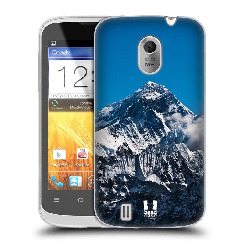 Silikonové pouzdro na mobil ZTE Blade III HEAD CASE Mount Everest Peak (Silikonový kryt či obal na mobilní telefon ZTE Blade 3)