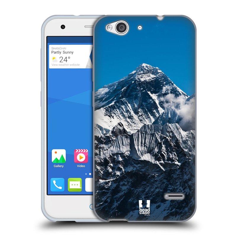 Silikonové pouzdro na mobil ZTE Blade S6 HEAD CASE Mount Everest Peak (Silikonový kryt či obal na mobilní telefon ZTE Blade S6)