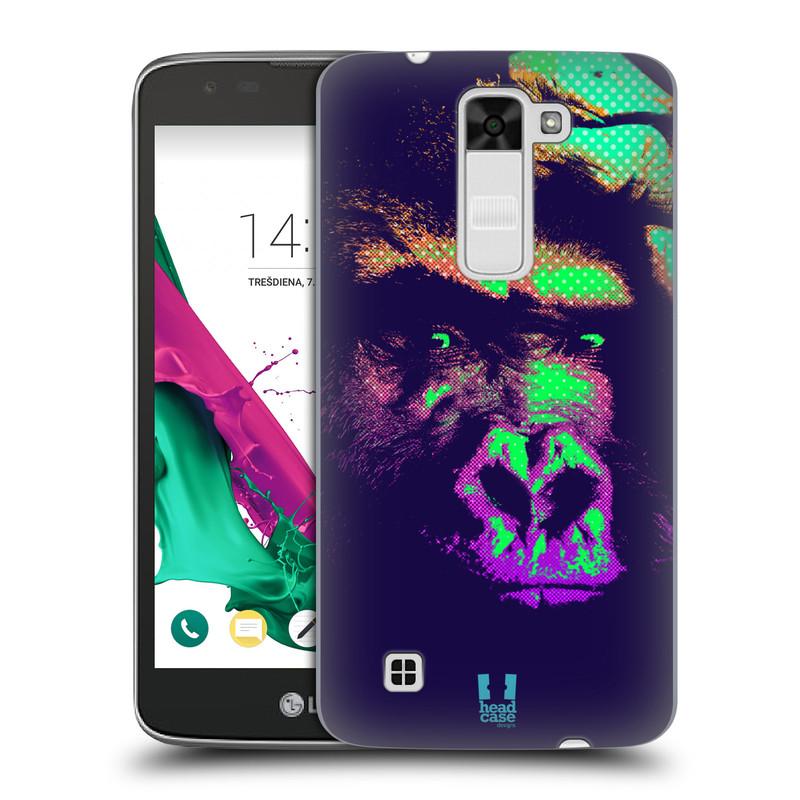 Plastové pouzdro na mobil LG K7 HEAD CASE POP PRINT GORILA (Kryt či obal na mobilní telefon LG K7)