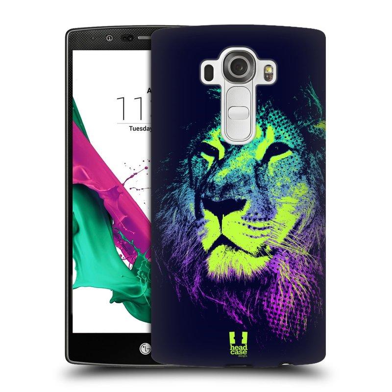 Plastové pouzdro na mobil LG G4 HEAD CASE POP PRINT LEV (Kryt či obal na mobilní telefon LG G4 H815)
