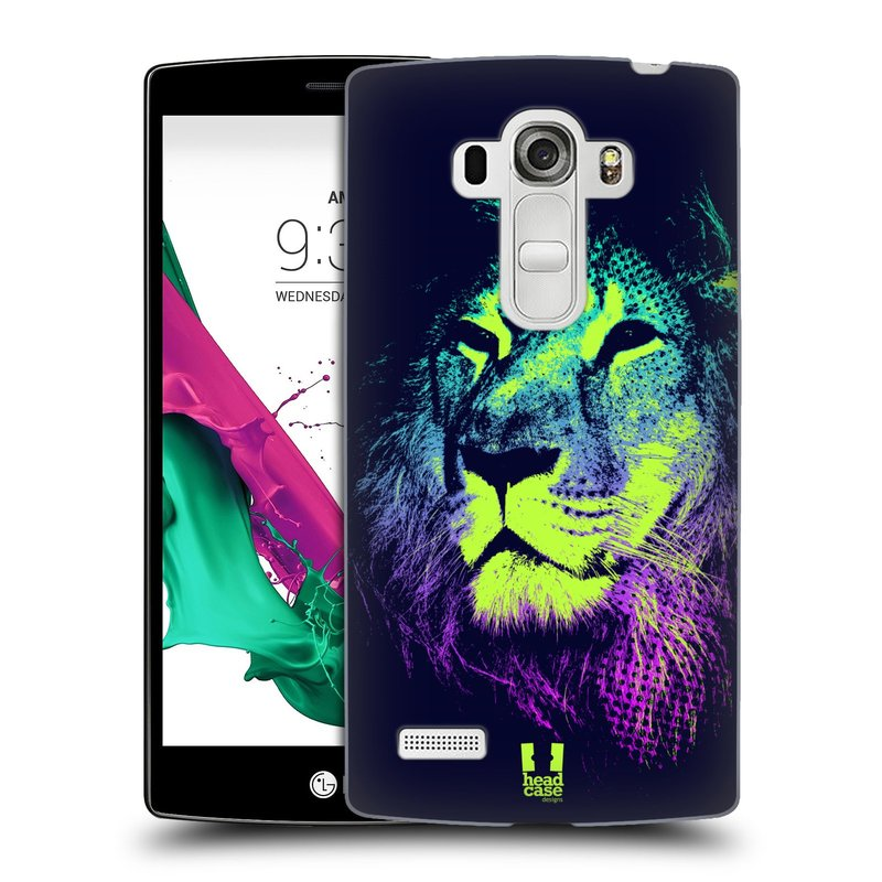 Plastové pouzdro na mobil LG G4s HEAD CASE POP PRINT LEV (Kryt či obal na mobilní telefon LG G4s H735n)