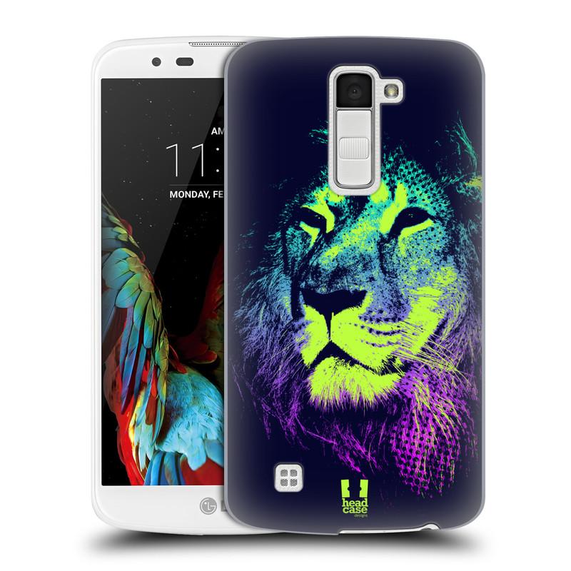 Plastové pouzdro na mobil LG K10 HEAD CASE POP PRINT LEV (Kryt či obal na mobilní telefon LG K10)