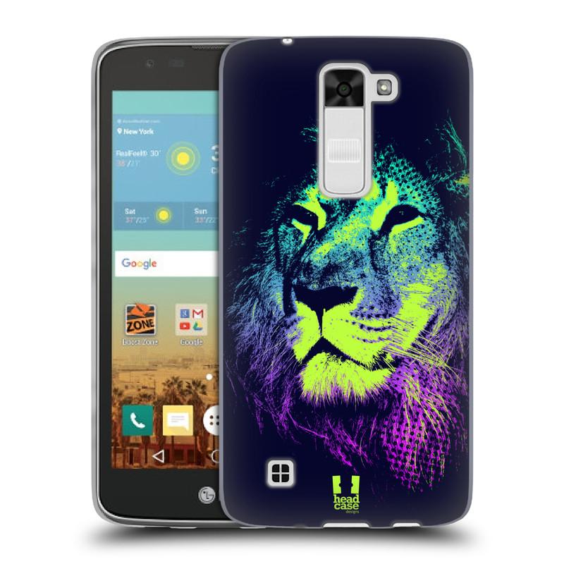 Silikonové pouzdro na mobil LG K7 HEAD CASE POP PRINT LEV (Silikonový kryt či obal na mobilní telefon LG K7)