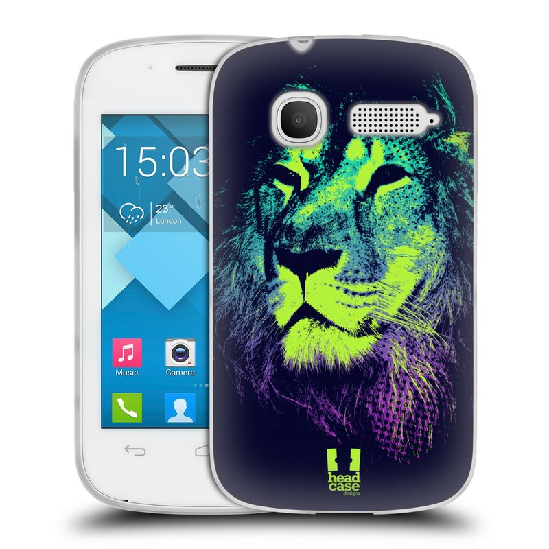 Silikonové pouzdro na mobil Alcatel One Touch Pop C1 HEAD CASE POP PRINT LEV (Silikonový kryt či obal na mobilní telefon Alcatel OT-4015D POP C1)