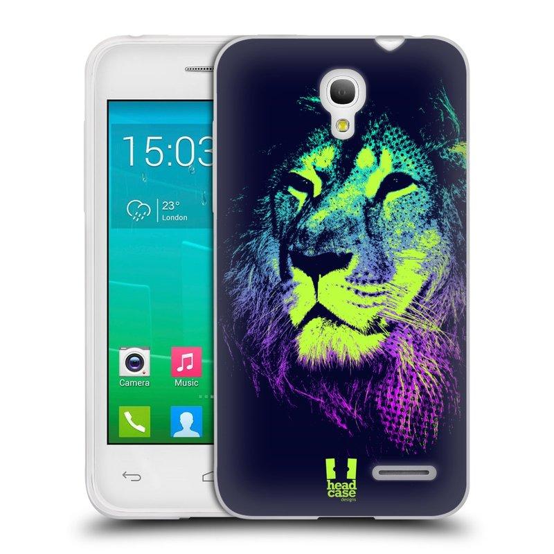 Silikonové pouzdro na mobil Alcatel One Touch Pop S3 HEAD CASE POP PRINT LEV (Silikonový kryt či obal na mobilní telefon Alcatel OT- 5050Y POP S3)