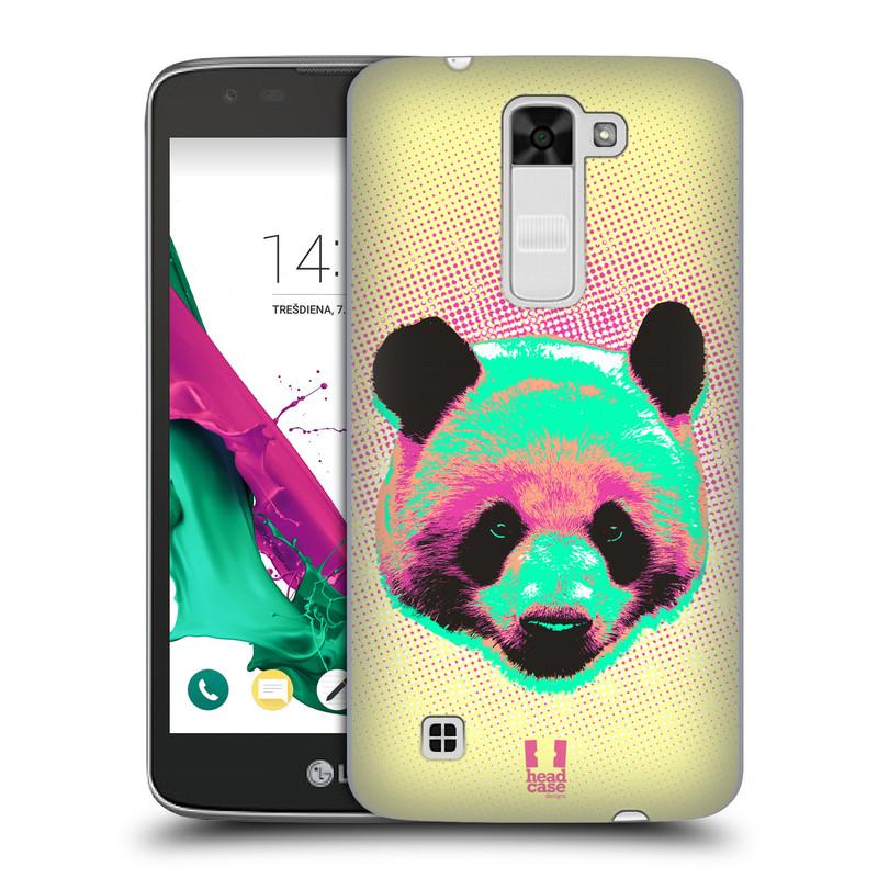 Plastové pouzdro na mobil LG K7 HEAD CASE POP PRINT PANDA (Kryt či obal na mobilní telefon LG K7)