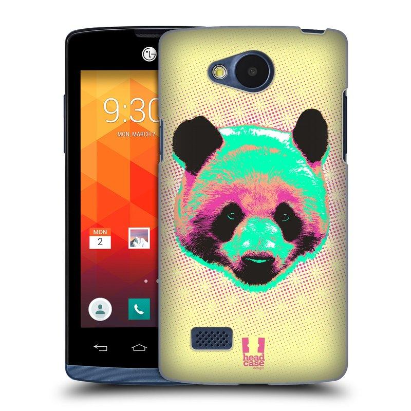 Plastové pouzdro na mobil LG Joy HEAD CASE POP PRINT PANDA (Kryt či obal na mobilní telefon LG Joy H220)
