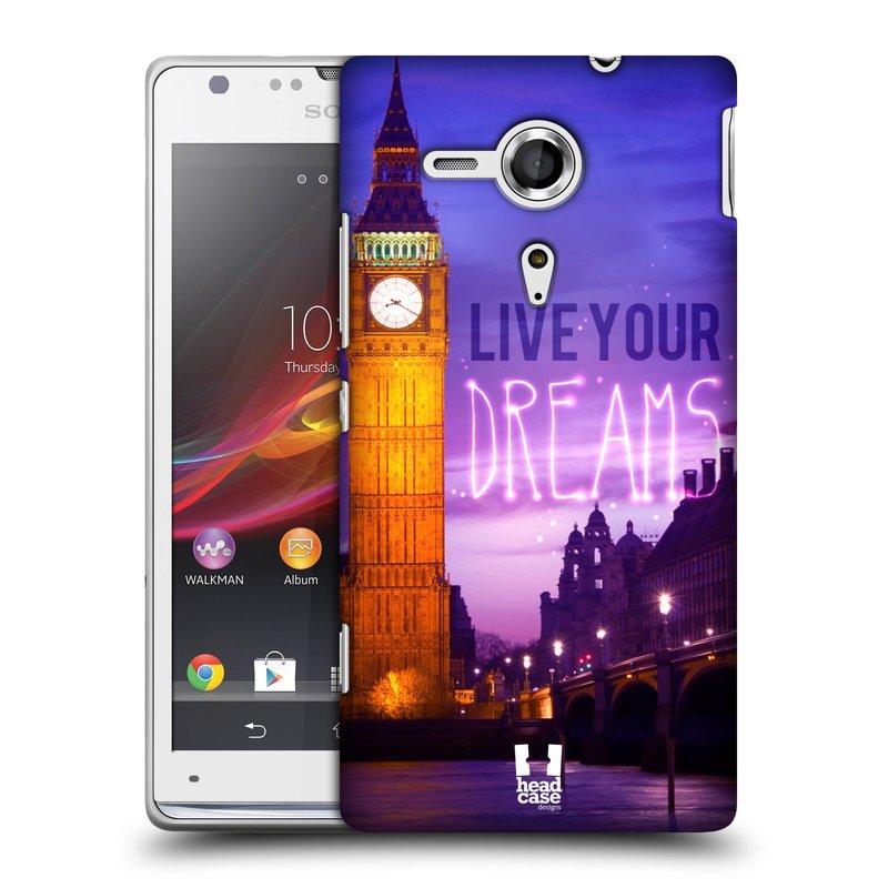Plastové pouzdro na mobil Sony Xperia SP C5303 HEAD CASE DREAMS (Kryt či obal na mobilní telefon Sony Xperia SP )