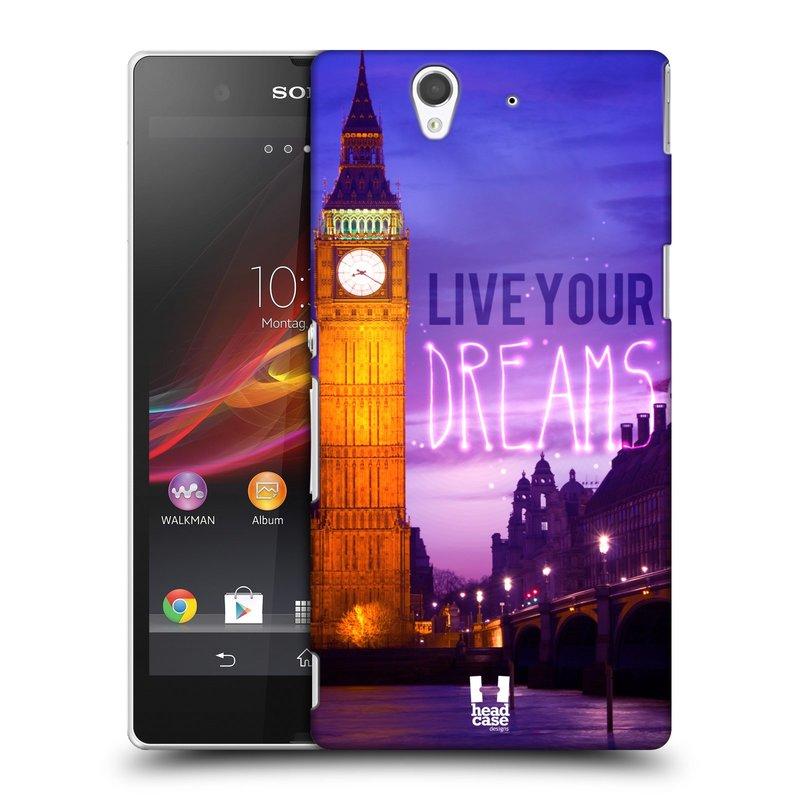 Plastové pouzdro na mobil Sony Xperia Z C6603 HEAD CASE DREAMS (Kryt či obal na mobilní telefon Sony Xperia Z )