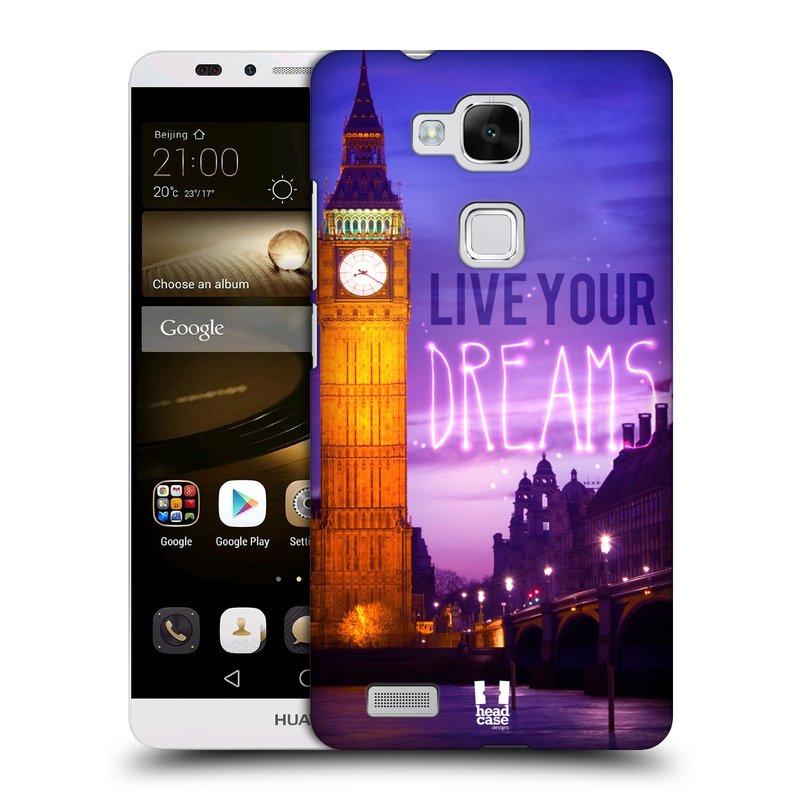 Plastové pouzdro na mobil Huawei Ascend Mate 7 HEAD CASE DREAMS (Kryt či obal na mobilní telefon Huawei Ascend Mate7)