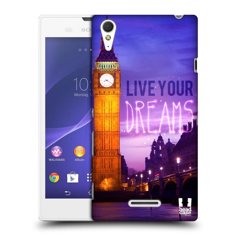 Plastové pouzdro na mobil Sony Xperia T3 D5103 HEAD CASE DREAMS (Kryt či obal na mobilní telefon Sony Xperia T3 )
