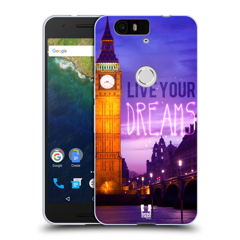 Silikonové pouzdro na mobil Huawei Nexus 6P HEAD CASE DREAMS (Silikonový kryt či obal na mobilní telefon Huawei Nexus 6P)