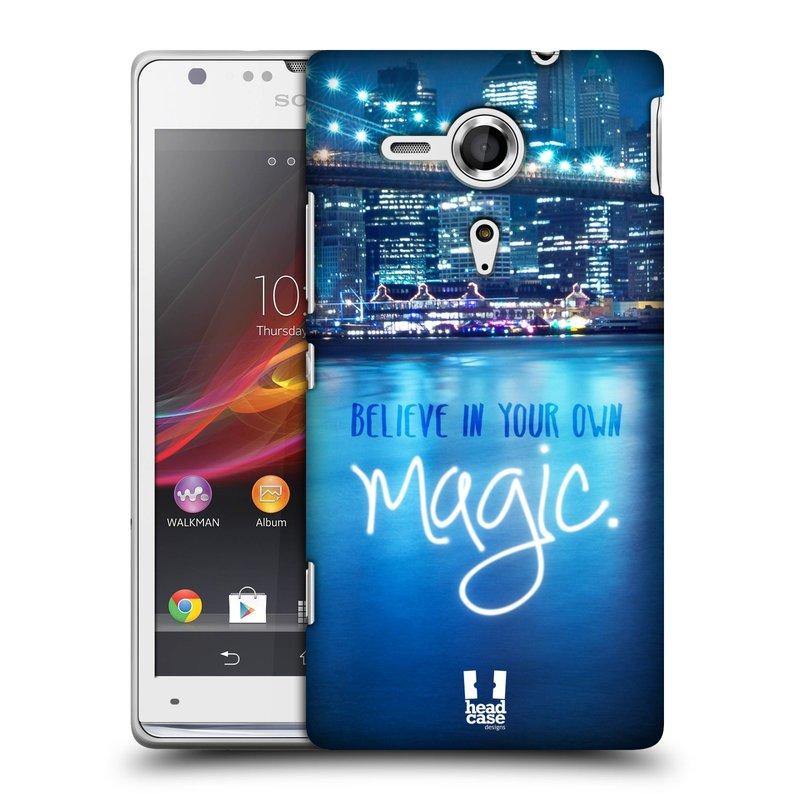 Plastové pouzdro na mobil Sony Xperia SP C5303 HEAD CASE MAGICAL (Kryt či obal na mobilní telefon Sony Xperia SP )