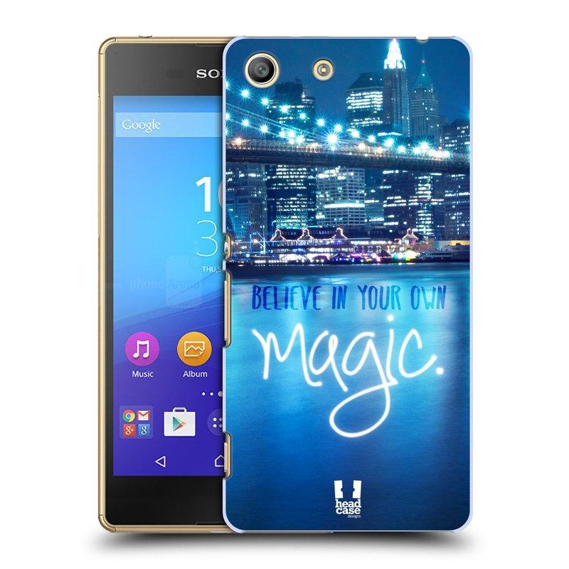Plastové pouzdro na mobil Sony Xperia M5 HEAD CASE MAGICAL (Kryt či obal na mobilní telefon Sony Xperia M5 Aqua)