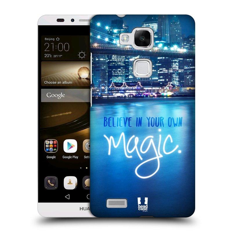 Plastové pouzdro na mobil Huawei Ascend Mate 7 HEAD CASE MAGICAL (Kryt či obal na mobilní telefon Huawei Ascend Mate7)