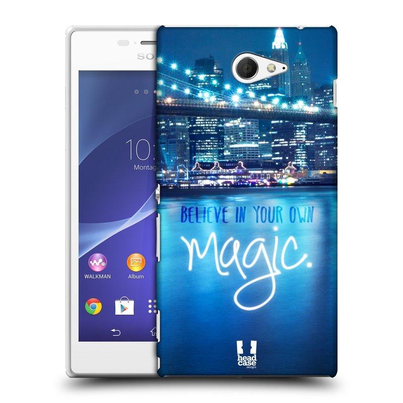 Plastové pouzdro na mobil Sony Xperia M2 D2303 HEAD CASE MAGICAL (Kryt či obal na mobilní telefon Sony Xperia M2 )