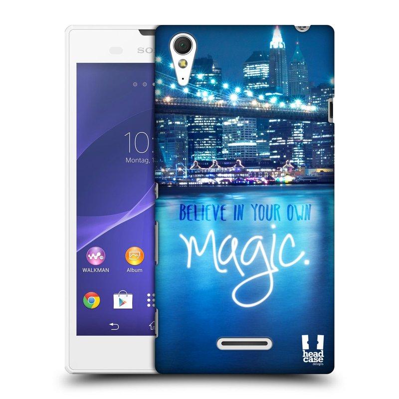 Plastové pouzdro na mobil Sony Xperia T3 D5103 HEAD CASE MAGICAL (Kryt či obal na mobilní telefon Sony Xperia T3 )