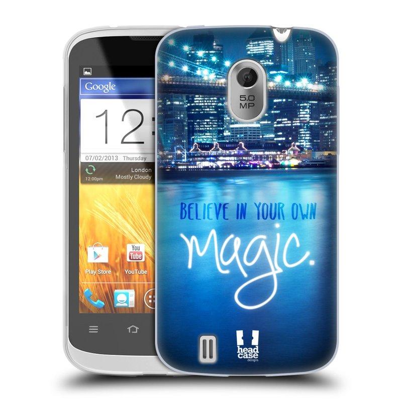 Silikonové pouzdro na mobil ZTE Blade III HEAD CASE MAGICAL (Silikonový kryt či obal na mobilní telefon ZTE Blade 3)