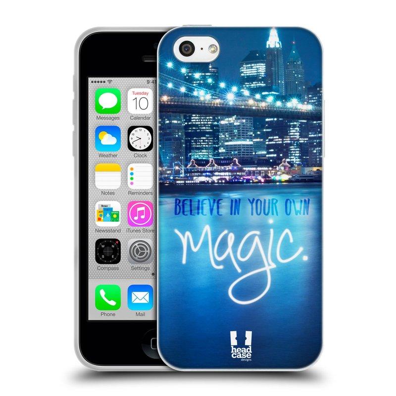 Silikonové pouzdro na mobil Apple iPhone 5C HEAD CASE MAGICAL (Silikonový kryt či obal na mobilní telefon Apple iPhone 5C)