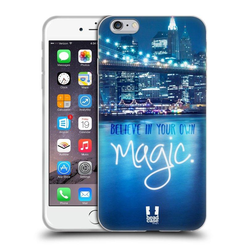 Silikonové pouzdro na mobil Apple iPhone 6 Plus a 6S Plus HEAD CASE MAGICAL (Silikonový kryt či obal na mobilní telefon Apple iPhone 6 Plus a 6S Plus)