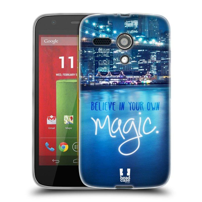 Silikonové pouzdro na mobil Motorola Moto G HEAD CASE MAGICAL (Silikonový kryt či obal na mobilní telefon Motorola Moto G)