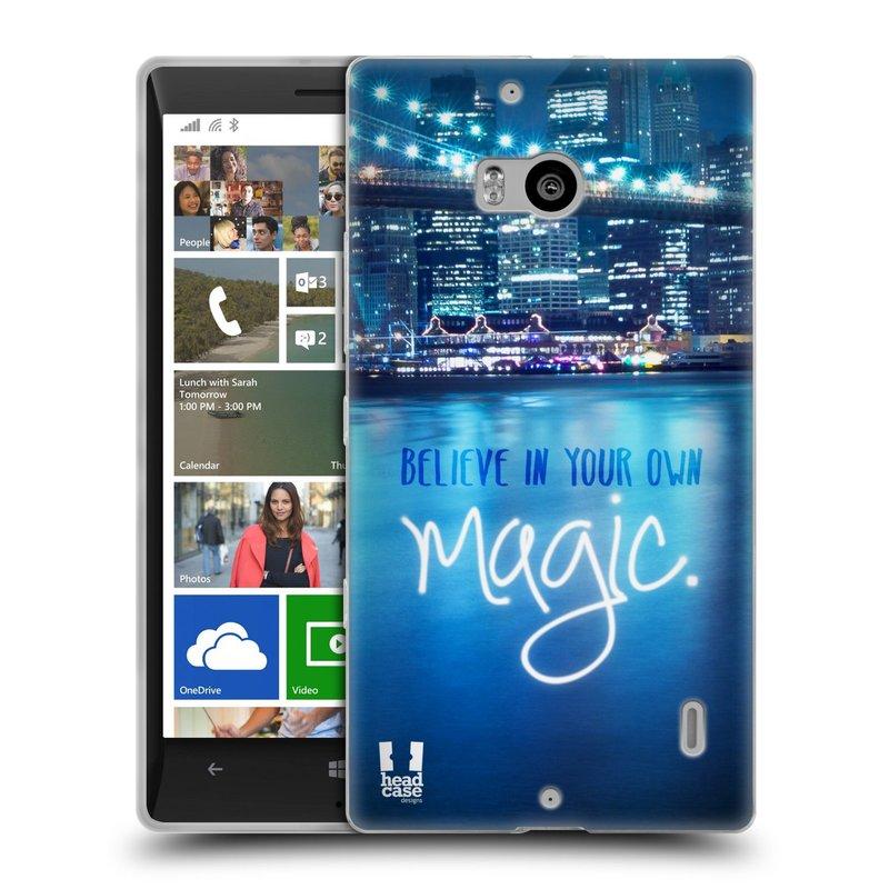 Silikonové pouzdro na mobil Nokia Lumia 930 HEAD CASE MAGICAL (Silikonový kryt či obal na mobilní telefon Nokia Lumia 930)