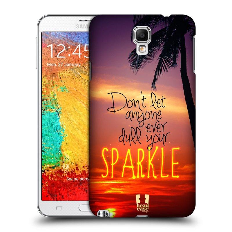 Plastové pouzdro na mobil Samsung Galaxy Note 3 Neo HEAD CASE SPARKLE (Kryt či obal na mobilní telefon Samsung Galaxy Note 3 Neo SM-N7505)