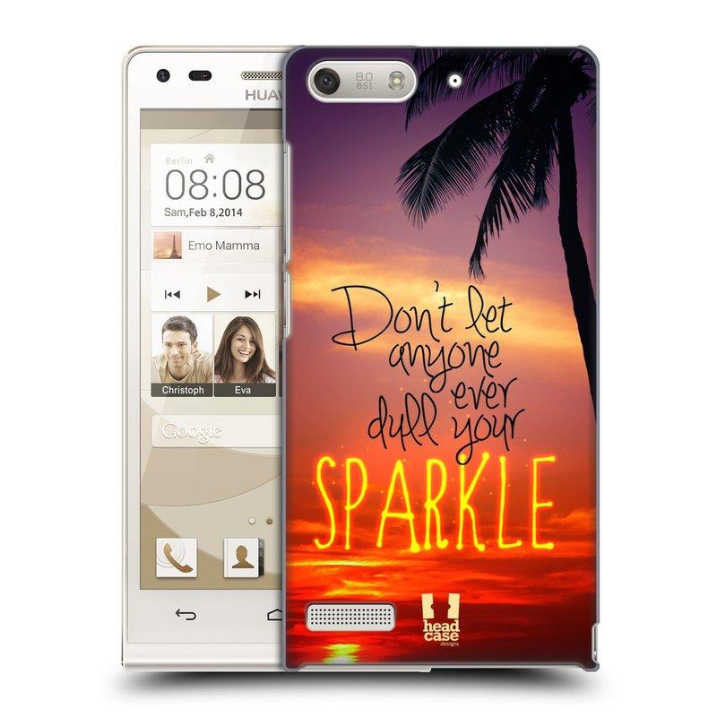 Plastové pouzdro na mobil Huawei Ascend G6 HEAD CASE SPARKLE (Kryt či obal na mobilní telefon Huawei Ascend G6 bez LTE)