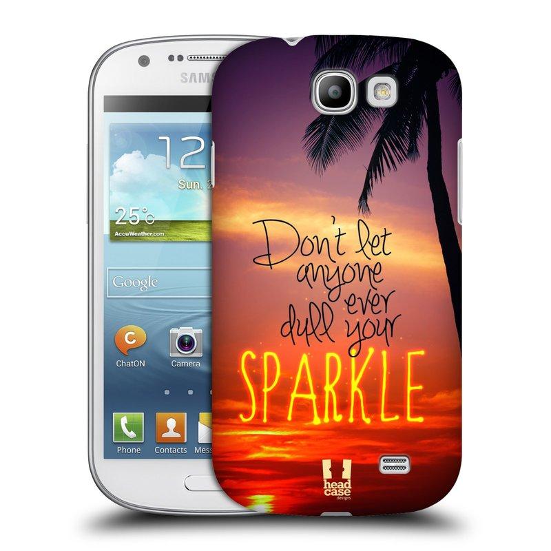 Plastové pouzdro na mobil Samsung Galaxy Express HEAD CASE SPARKLE (Kryt či obal na mobilní telefon Samsung Galaxy Express GT-i8730)