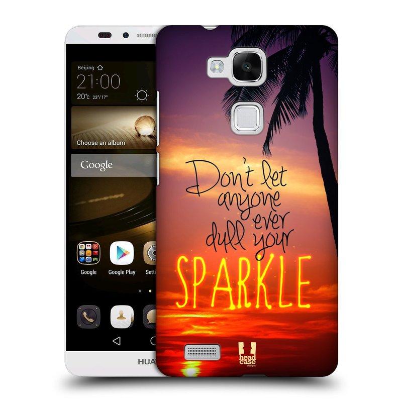 Plastové pouzdro na mobil Huawei Ascend Mate 7 HEAD CASE SPARKLE (Kryt či obal na mobilní telefon Huawei Ascend Mate7)