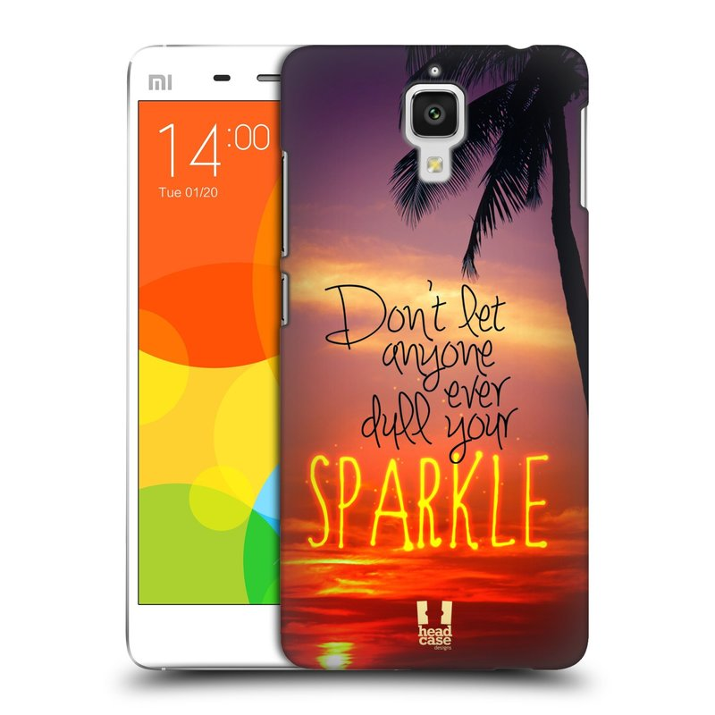Plastové pouzdro na mobil Doogee Hitman DG850 HEAD CASE SPARKLE (Kryt či obal na mobilní telefon Doogee Hitman DG850)