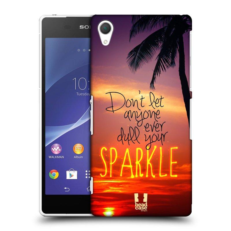 Plastové pouzdro na mobil Sony Xperia Z2 D6503 HEAD CASE SPARKLE (Kryt či obal na mobilní telefon Sony Xperia Z2 )