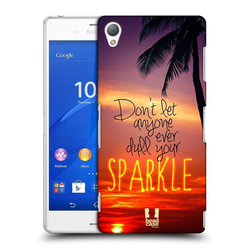 Plastové pouzdro na mobil Sony Xperia Z3 D6603 HEAD CASE SPARKLE (Kryt či obal na mobilní telefon Sony Xperia Z3 )