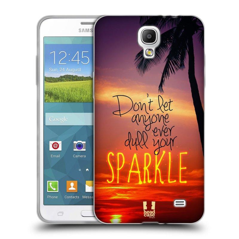 Silikonové pouzdro na mobil Samsung Galaxy Grand Mega 2 HEAD CASE SPARKLE (Silikonový kryt či obal na mobilní telefon Samsung Galaxy Grand Mega 2 SM-G750)