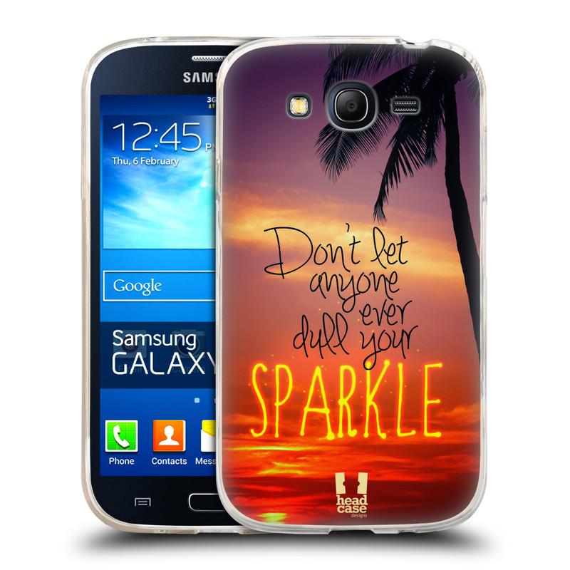 Silikonové pouzdro na mobil Samsung Galaxy Grand Neo Plus HEAD CASE SPARKLE (Silikonový kryt či obal na mobilní telefon Samsung Galaxy Grand Neo Plus Duos GT-I9060i)