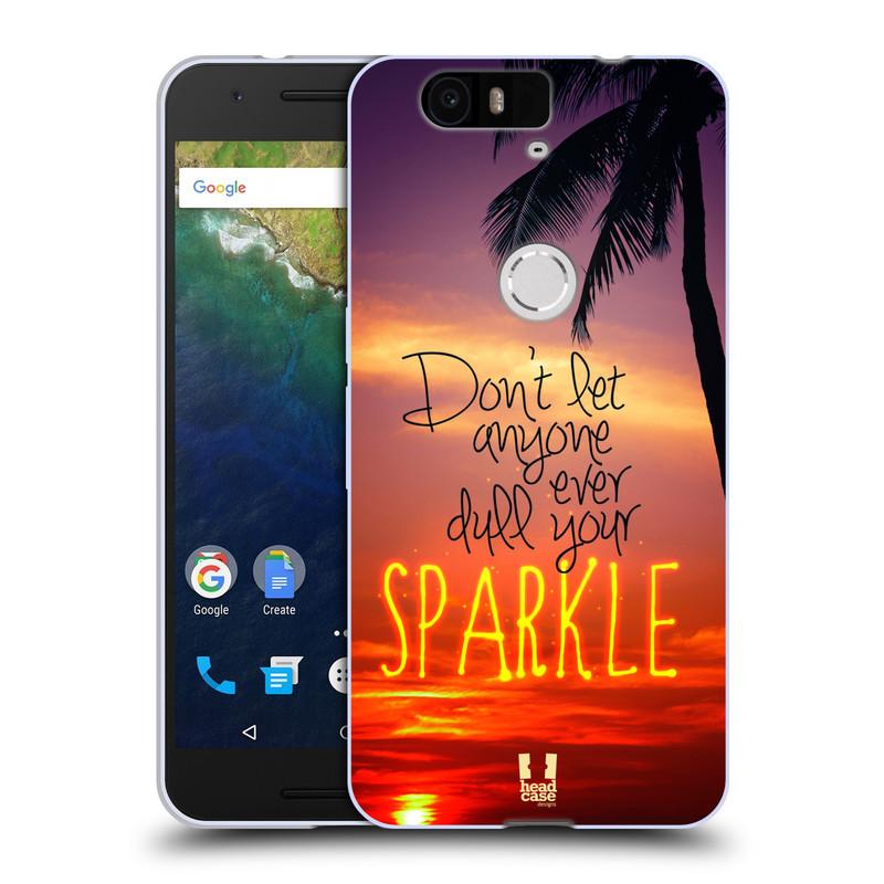 Silikonové pouzdro na mobil Huawei Nexus 6P HEAD CASE SPARKLE (Silikonový kryt či obal na mobilní telefon Huawei Nexus 6P)