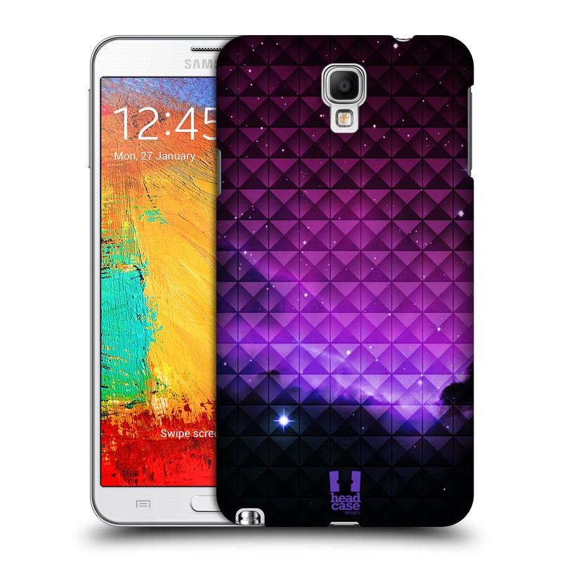 Plastové pouzdro na mobil Samsung Galaxy Note 3 Neo HEAD CASE PURPLE HAZE (Kryt či obal na mobilní telefon Samsung Galaxy Note 3 Neo SM-N7505)