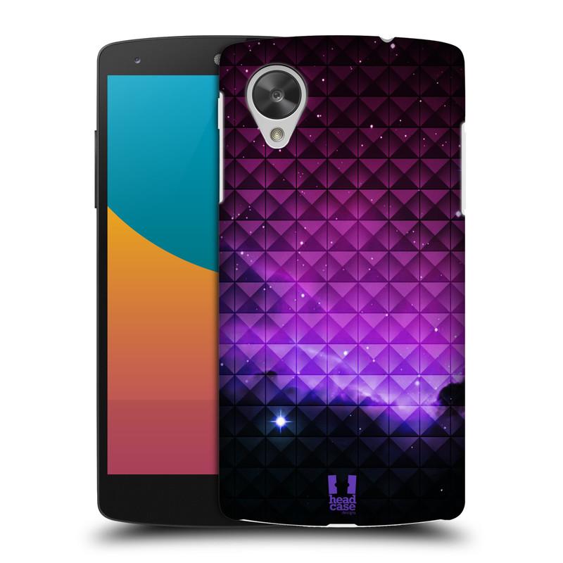Plastové pouzdro na mobil LG Nexus 5 HEAD CASE PURPLE HAZE (Kryt či obal na mobilní telefon LG Google Nexus 5 D821)
